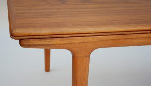 Johannes Andersen mid century dining table