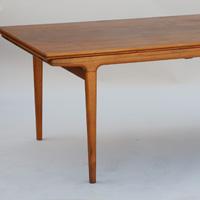 Johannes Anderson mid century teak dining table