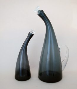 Winslow Anderson decanters designed for Blenko.