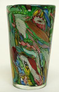 Detail of AVEM Tutti Frutti Vase.