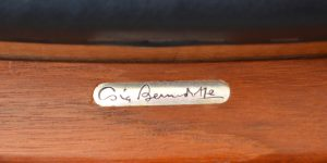 Sigvard Bernadotte chair signature