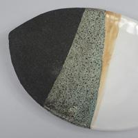 Ettore Sottsass Bitossi Lava Glaze Tray
