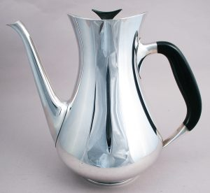 Cohr silver plate coffee pot