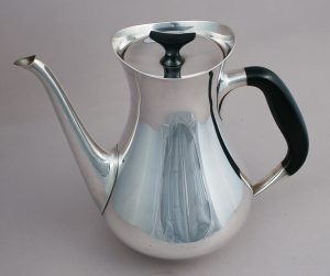 Cohr Denmark silver plate coffee pot