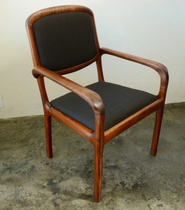 California craft studio chairs in walnut