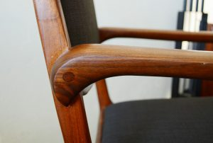 detail of California studio chair