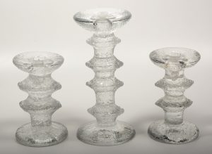 Timo Sarpeneva Festivo candleholders designed for Iittala.