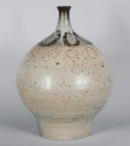 Large Robert Gronendyke ceramic vase.