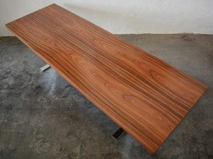 Heltborg Mobler rosewood and chrome coffee table