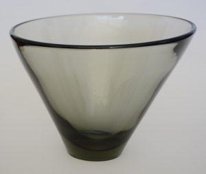 Per Lutken Thule bowl designed for Holmegaard.