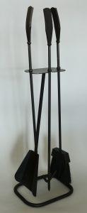 mid century fireplace tools