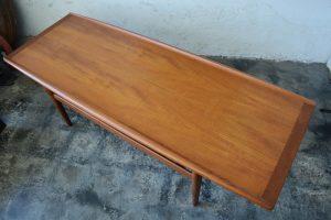 Grete Jalk teak coffee table