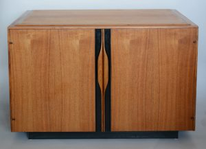 John Kapel two door cabinet