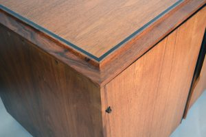 John Kapel cabinet top detail