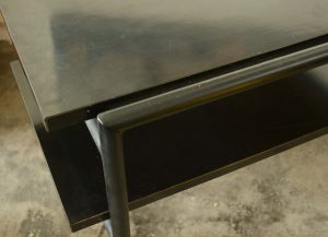 Don Knorr side table for vista