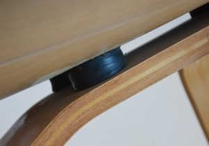 Bottom shockmount on Eames lounge chair