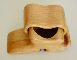 Fred and Marylyn Buss maple box
