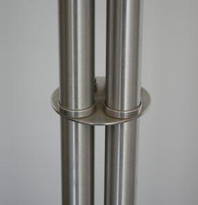 Warren McArthur machine age aluminum coat rack.