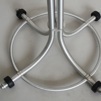 warren mcarthur aluminum coat rack base