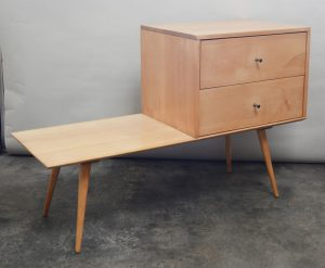 Paul McCobb planner group cabinet on bench