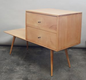 Paul McCobb planner goup cabinet side view