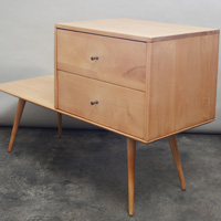 Paul McCobb planner group chest and table