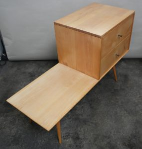 Top view Paul McCobb cabinet