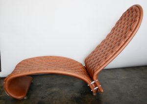Verner Panton 123 chaise lounge