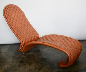 Verner Panton 123 chaise lounge