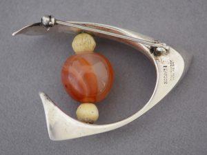 Ronald Hayes Pearson studio jewelry signature.