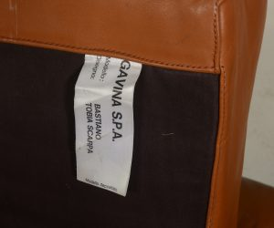 Tobia Scarpa Bastiano chair label
