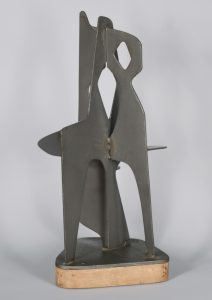 Mid century abstract sculpture.
