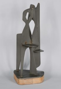 Abstract mid century sculpture.
