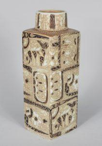 Nils Thorsson Baca fajance vase for Royal Copenhagen.