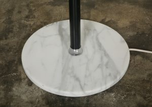Marble base of the lamp.