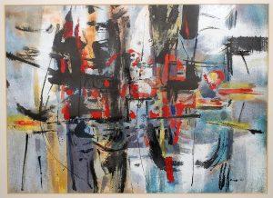 Richard Yip abstract watercolor painting.
