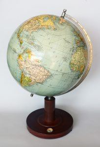 Swedish Terrestrial Globe by Columbus-Jordglob