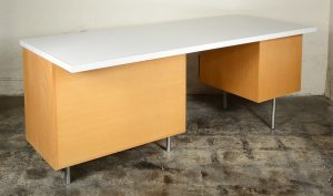 George Nelson desk with laminate top