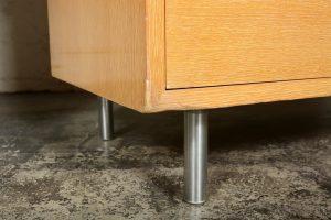 George Nelson desk steel leg