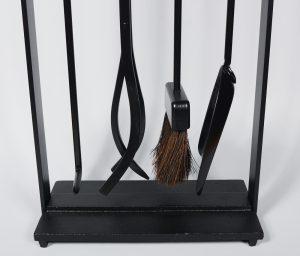 Mid century Pilgrim fireplace tools