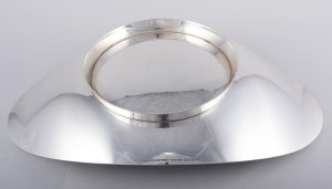 modernist sterling bowl by Tiffany